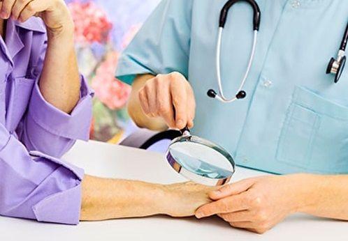 Лечение дерматологических заболеваний